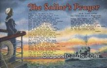 mil002193 - Sailors Prayer Military Postcard Post Card Old Vintage Antique