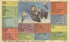 mil002194 - Military Postcard Post Card Old Vintage Antique