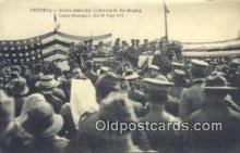 mil002208 - Camp Romagne 1919 Military Postcard Post Card Old Vintage Antique