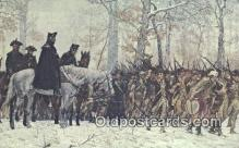 mil002212 - General George Washington, Valley Forge Military Postcard Post Card Old Vintage Antique