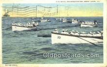 mil002228 - US Naval Training Station, Great Lakes, Illinois, IL USA Military Postcard Post Card Old Vintage Antique
