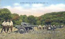 mil002234 - Battery Position Military Postcard Post Card Old Vintage Antique