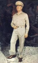 mil002239 - General Douglas MacArthur, Wax Figure, Wax Museum, Dallas, Texas, TX USA Military Postcard Post Card Old Vintage Antique