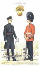mil002250 - Printed 1986 Grenadier Guards Military Postcard Post Card Old Vintage Antique