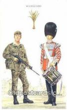 mil002254 - Printed 1986 Welsh Guards Military Postcard Post Card Old Vintage Antique