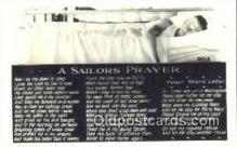 mil002313 - Sailors Prayer Military Postcard Post Card Old Vintage Antique