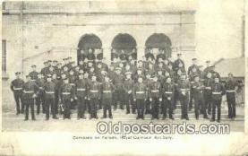 mil002316 - Royal Garrison Artillery Military Postcard Post Card Old Vintage Antique