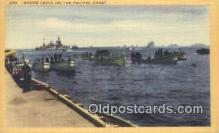 mil002318 - Shore Leave on The Pacific Coast Military Postcard Post Card Old Vintage Antique
