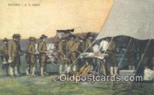 mil002331 - Rations - US Army WW 1 Military Postcard Post Card Old Vintage Antique