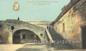 mil002334 - Fort Marion St Augustine, Florida, FL USA Military Postcard Post Card Old Vintage Antique