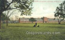 mil002337 - Officers Headquarters, Fortress Monroe, Virginia, VA USA Military Postcard Post Card Old Vintage Antique