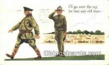mil002349 - Artist Bernhard Wall Military Postcard Post Card Old Vintage Antique