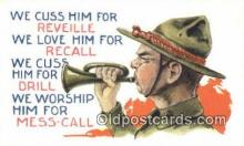 mil002354 - Artist Bernhard Wall Military Postcard Post Card Old Vintage Antique