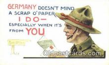 mil002355 - Artist Bernhard Wall Military Postcard Post Card Old Vintage Antique