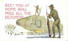 mil002356 - Artist Bernhard Wall Military Postcard Post Card Old Vintage Antique