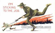 mil002357 - Artist Bernhard Wall Military Postcard Post Card Old Vintage Antique