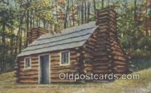 mil002367 - Continental Army Hospital Hut Military Postcard Post Card Old Vintage Antique