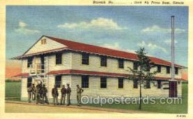 mil003016 - Scott Air Force Base, Illinois, USA Military Linen Postcard Postcards