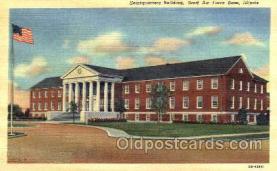 mil003024 - Headquarters Building, Scott Airforce Base, Illinois, USA Military Linen Postcard Postcards