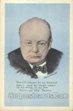 mil004006 - Mr Winston Churchill  Postcard Post Cards Old Vintage Antique