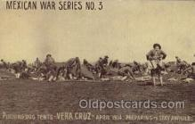 mil005010 - Vera Cruz Mexican War Postcard Postcards