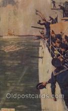 mil006016 - Cutter Race Military, WW I, World War I, Postcard Postcards