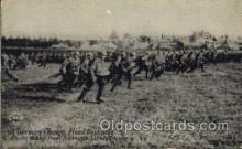 mil006039 - A German Charge, Fixed Bayonets Military, WW I, World War I, Postcard Postcards