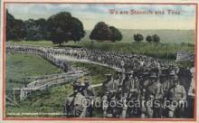 mil006073 - Active Army Life Military, WW I, World War I, Postcard Postcards