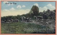 mil006079 - Underwood, New York, USA Military, WW I, World War I, Postcard Postcards