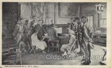 mil006089 - Popular Songs at K. of C. Hall Military, WW I, World War I, Postcard Postcards