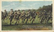 mil006097 - Double time Military, WW I, World War I, Postcard Postcards