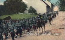 mil006109 - French Moving on the Enemys Flank, Military, WW I, World War I, Postcard Postcards