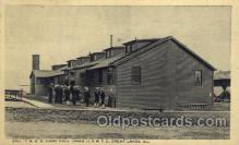mil006137 - Y.M.C.A. Camp Paul Jones, Ill, USA Military, WW I, World War I, Postcard Postcards