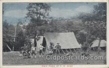 mil006151 - Field Camp, U.s. Army Military, WW I, World War I, Postcard Postcards