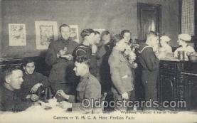 mil006171 - Y.M.C.A. Hote Pavillon Paris Military, WW I, World War I, Postcard Postcards