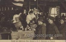 mil006173 - From the American Red Cross L.O.C. Canteen in France, Red Cross Military, WW I, World War I, Postcard Postcards