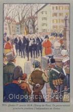 mil007037 - Geneve 1 janvier Military Postcard Postcards
