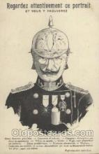 mil007044 - Regardez Attentivement ce portrait, Military Postcard Postcards