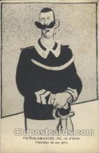 mil007059 - Victor-Emanuel III Military Postcard Postcards
