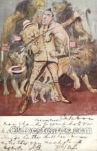 mil007061 - The lion Tamer Military Postcard Postcards