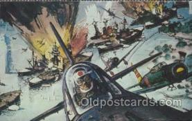 mil007074 - Robert McCall, US Battleship Arizona, USA Military Postcard Postcards