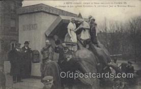 mil007128 - A Metz Delivree, devant la Statue Military Postcard Postcards