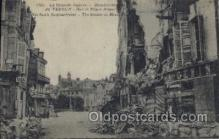 mil007134 - Verdun's Bombardment, The houses on Maze Plaza Military Postcard Postcards