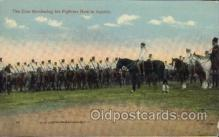 mil007159 - Czar Reviewing his fighters in Austria Military Postcard Postcards
