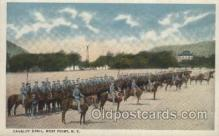 mil007168 - Cavalry Drill, West Point, N.Y., USA Military Postcard Postcards