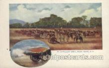 mil007169 - Artillery Drill, West Point, N.Y., USA Military Postcard Postcards
