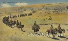 mil007174 - Uncle Sam's Cavalry Troops Military Postcard Postcards