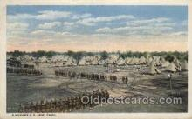 A modern U.S. Army Camp