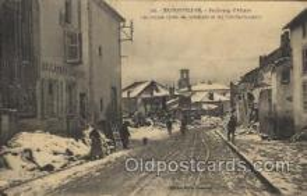 mil007208 - Badonviller Military Postcard Postcards