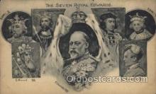 mil007283 - The Seven Royal Edwards Military Postcard Postcards